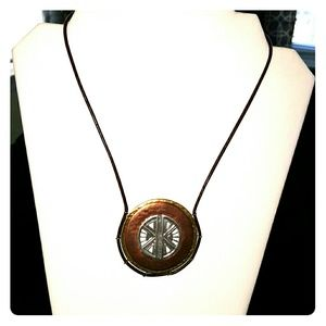 Jewelry - Copper Compass necklace