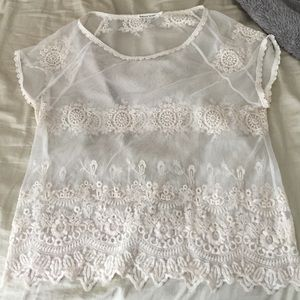 Unique Lace Top Large