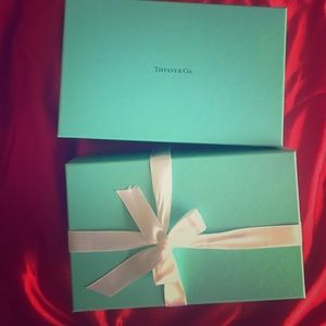 Two Tiffany and Co boxes