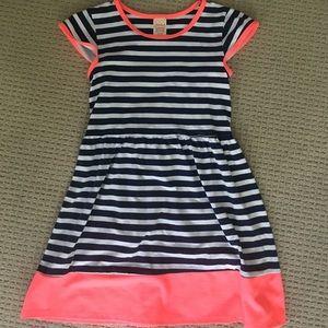 Girls Striped Dress.