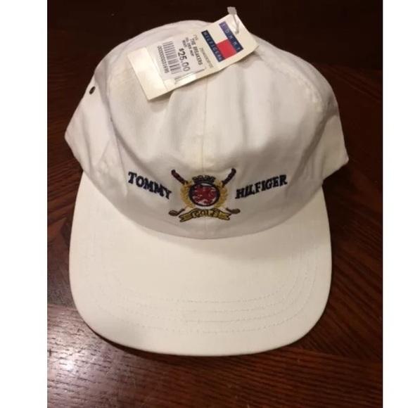 NEW - Vintage 90s Tommy Hilfiger Golf Hat 42efd723b87