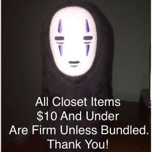 Other - No Face says...$10 & Under Firm Unless Bundled