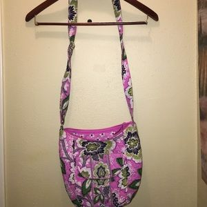Womens cross body Vera Bradley saddle purse