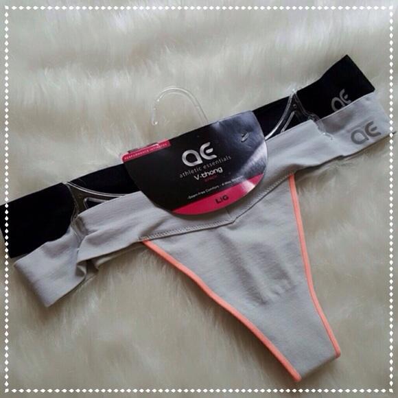 40016b1a3e1e ae Intimates & Sleepwear | Athletic Essential 2 Pk V Thong | Poshmark