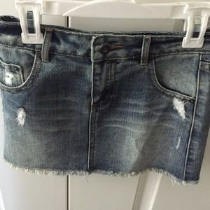 Forever 21 Girls Denim Skirt