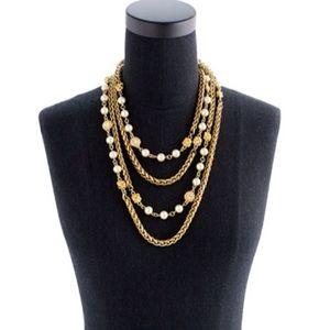 LOWEST🙈Crew Knots & Baubles 4 tier necklace