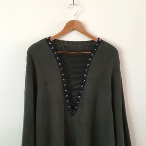 LF Sweaters - Evergreen Oversized Sweater