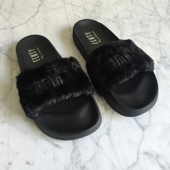 kylie puma slippers