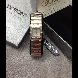 Croton Accessories - NWT Croton Dimond Watch