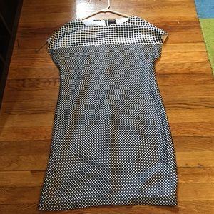 Paul & Shark Dresses & Skirts - Brand New Paul & Shark Polka Dot Silk Shift Dress
