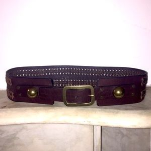 DVF Braided Leather Belt
