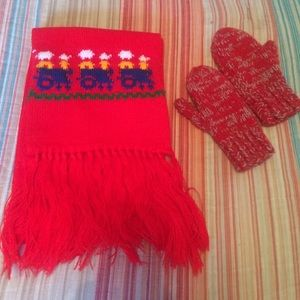 Other - Winter scarf and mittens set-toddler