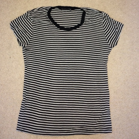 a4143cdc02 Brandy Melville Tops | Striped Tee Shirt | Poshmark