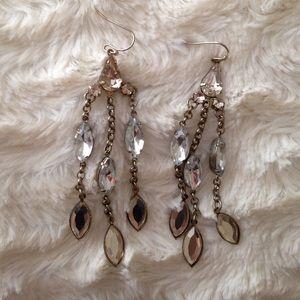 Chandelier earrings!
