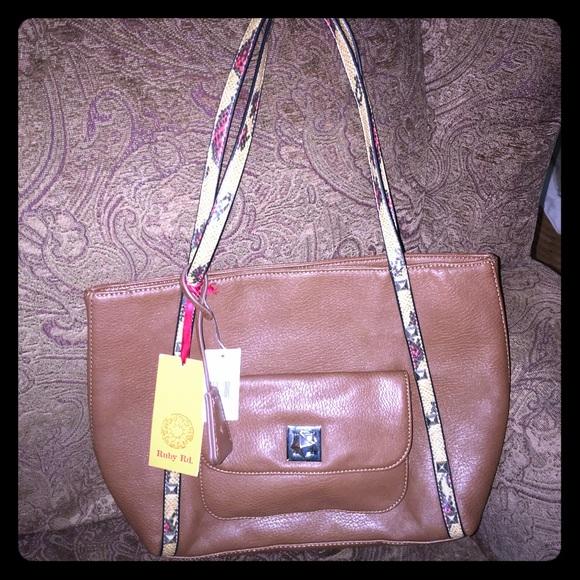 83% off Ruby Red Handbags - Ruby Red Coffee Handbag from Juls's ...