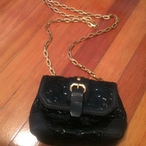 Marc Jacobs cross body patent leather bag