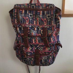 Urban Outfitters Handbags - Ecoté Aztec/Tribal Print Canvas Backpack