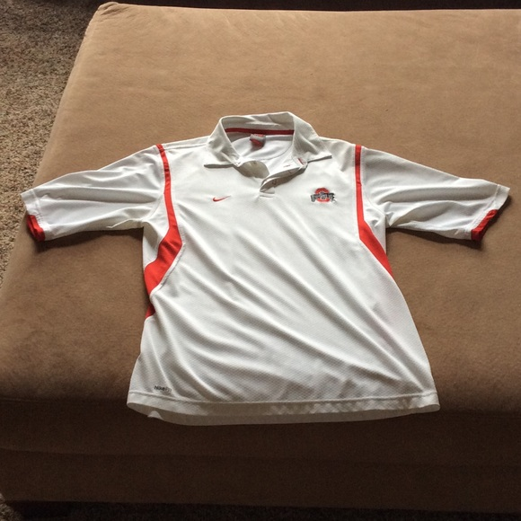 Ohio State Nike Fit Dry polo