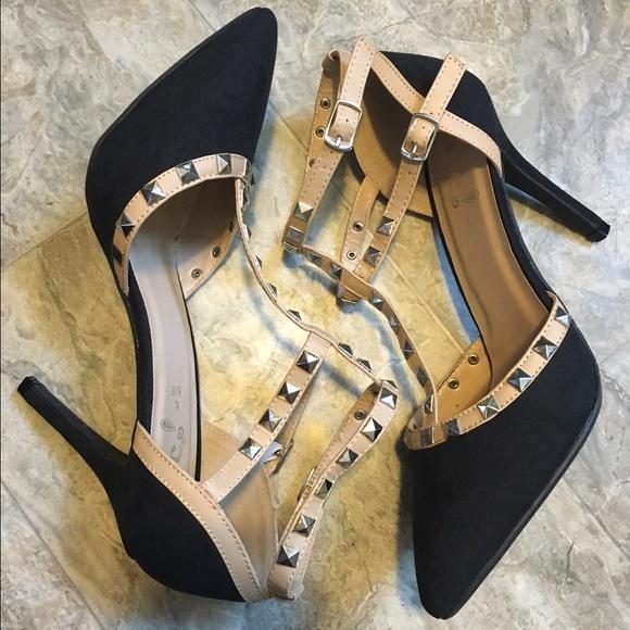 e8cd3d2f4ba3 Valentino Rockstud Dupe Heels Rue 21 Size 8 9
