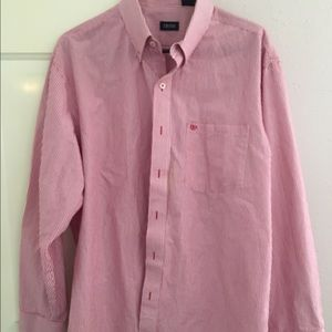 Izod Other - Izod Long-Sleeved Red/White Striped Shirt