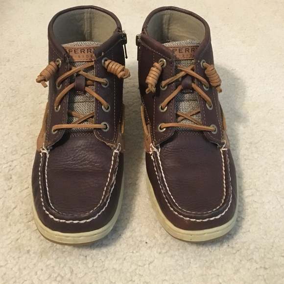 Sperry Shoes | Sperry Mid Top Sneakers