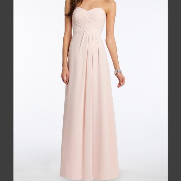e9c4c90656d ASOS Dresses   Skirts - Camille La Vie Strapless Criss Cross Bodice Dress