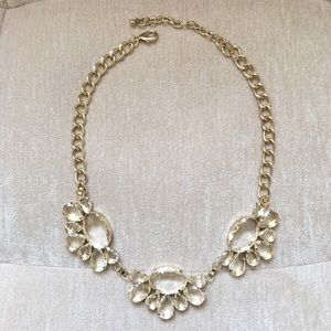 Jewelry - Clear Statement Necklace
