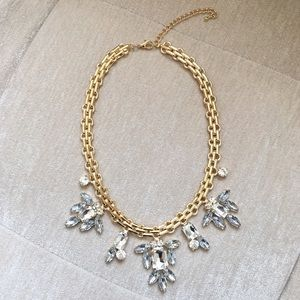 Jewelry - Crystal Gold Necklace