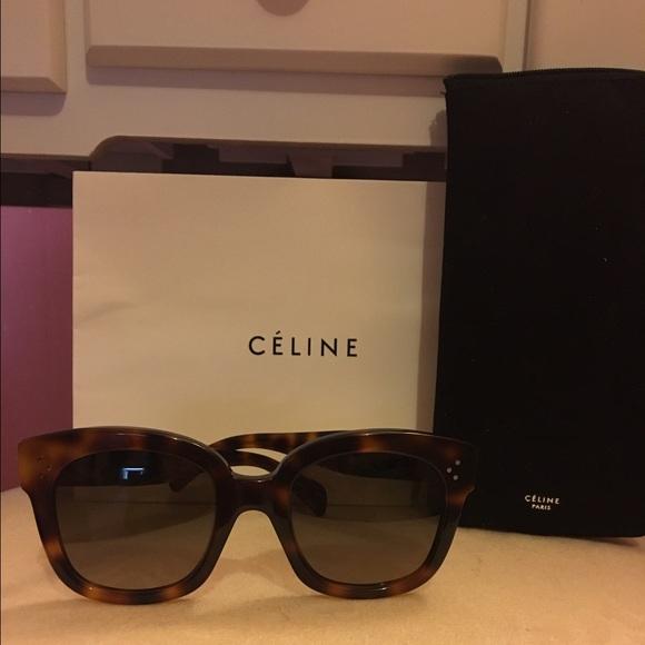 5126dd55525b6 Celine Accessories - 100% Authentic Celine Audrey Sunglasses