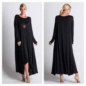 Dresses & Skirts - Flowy Long Sleeve Dress