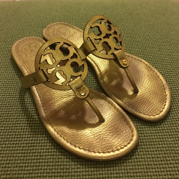 547268750e99 Tory burch gold Miller sandals Sz 8. M 586dc6482ba50a7236019a71. Other Shoes  you may like