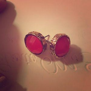 Pink Marc Jacobs earrings