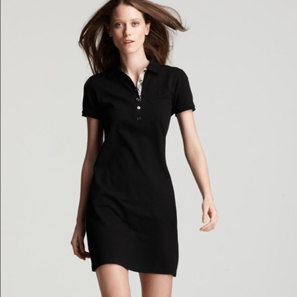Burberry Dresses Brit Womens Pique Polo Shirt Dress Poshmark