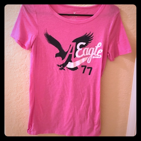 60 Off American Eagle Outfitters Tops Pink American
