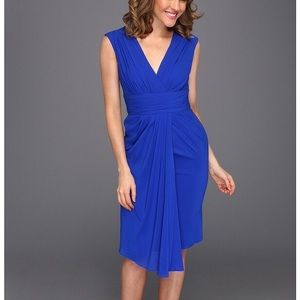 Badgley Mischka Dresses & Skirts - Royal Blue Silk Cocktail Dress