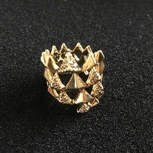 House of Harlow 1960 Jewelry - House of Harlow pyramid ring