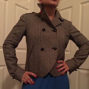 Cole Haan plaid jacket