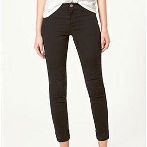 Zara Pants - ZARA black skinny side zip pants