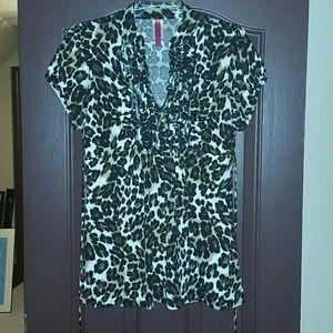 Tops - Cheetah Print Top