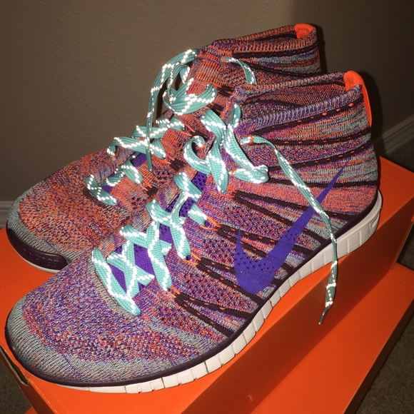 3be88de30bfd Multi Colored Flyknit Chukka. M 57b28610bcd4a7229d095118. Other Shoes you  may like. Pink Nike Air Max