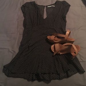Kimchi Blue Dresses & Skirts - Black printed romper