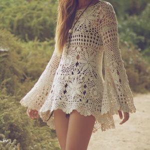 LAST ONE❗️UNIF Ashbury Crochet Dress