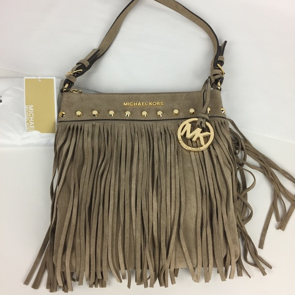 f930ad1131b7 Michael Kors Bags | Billy Small Messenger Fringe Bag | Poshmark