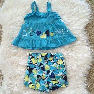 Other - Little Girl's Heart Outfit