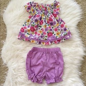 Other - Little Girl's Floral Outfit