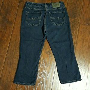 Silver Jeans Pants - Silver jean capris size 32