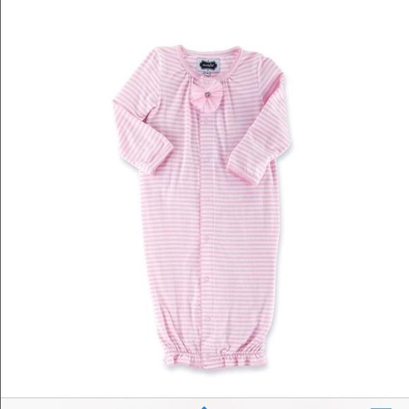 Mud Pie Pajamas | Nwt Mudpie Bamboo Convertible Sleep Gown 69mo ...