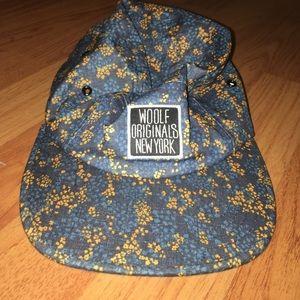 Woolf Originals NY Five Panel Flower Hat