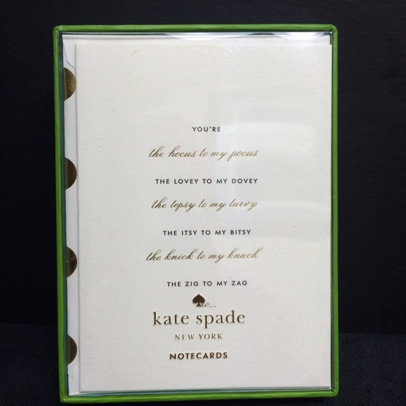 Kate Spade Accessories Thank You Bridesmaid Card Set Poshmark