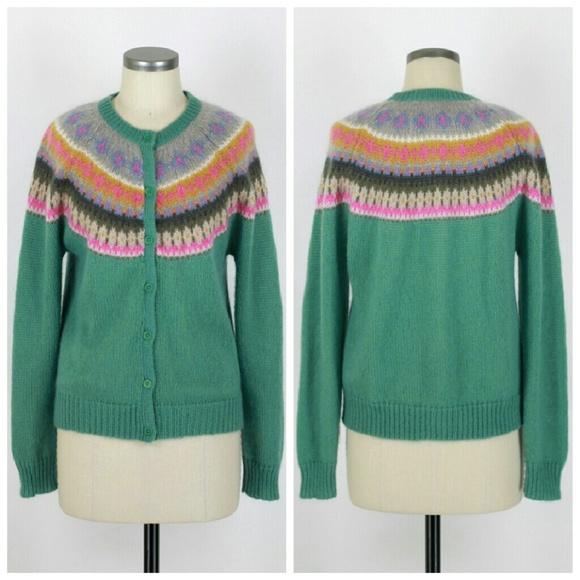 Boden Sweaters Fair Isle Cardigan Sweater Poshmark